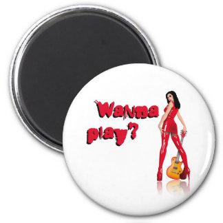 Skirt Babe A wanna play Magnet