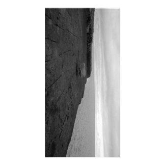 Skirt Cliff Sea 20,3cm x 10,16cm Photocard Card