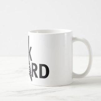 Skirt guitar coffee mug
