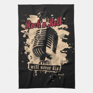 Skirt n roll Microphone - talk Hand Towel