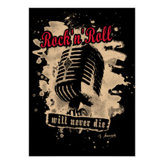Skirt n roll Microphone - talk Poster