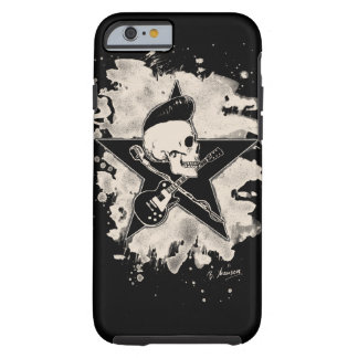 Skirt n roll Skull - bleached Tough iPhone 6 Case