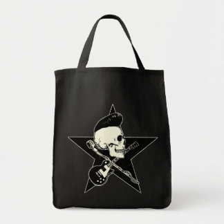 Skirt n roll Skull Tote Bag