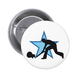 Skirt star pin