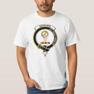 Skirving Clan Badge T Shirt