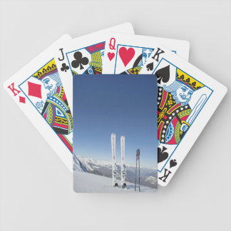 Skis and Ski Poles Bicycle Playing Cards