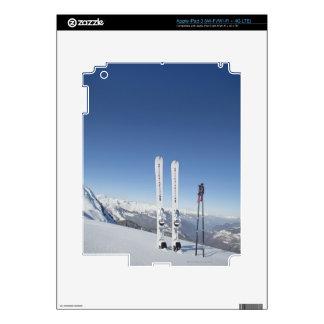 Skis and Ski Poles iPad 3 Decals