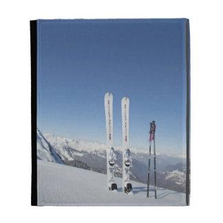 Skis and Ski Poles iPad Case