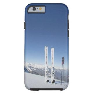 Skis and Ski Poles Tough iPhone 6 Case