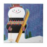 Skis for Snowman Tile