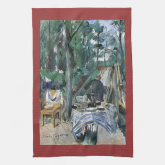 Skittle Alley by Lovis Corinth Hand Towel