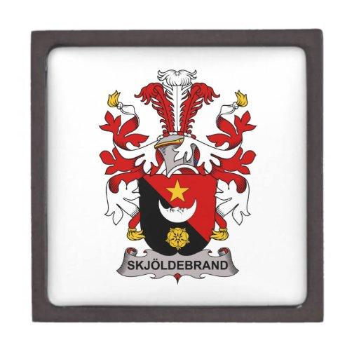 Skjoldebrand Family Crest Premium Keepsake Box