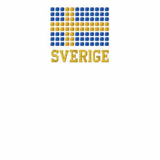 Skjorta flaggan de Svenska - camiseta sueca de la