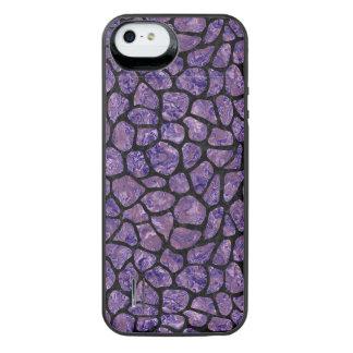 SKN1 BK-PR MARBLE iPhone SE/5/5s BATTERY CASE