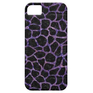 SKN1 BK-PR MARBLE (R) iPhone SE/5/5s CASE