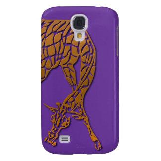 "SKO ""3D GIRAFFE"" Wildlife Artwork Samsung S4 Case"
