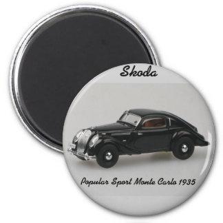 Skoda Popular Sport Monte Carlo 1935 Magnet