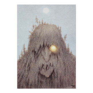 Skogtroll [Forest Troll] Posters