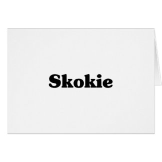 Skokie Classic t shirts Greeting Card
