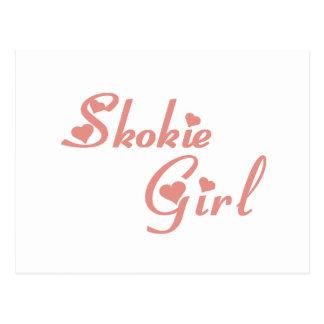 Skokie Girl tee shirts Postcard