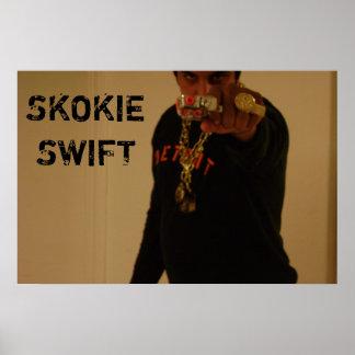 SKOKIE SWIFT 007 Poster