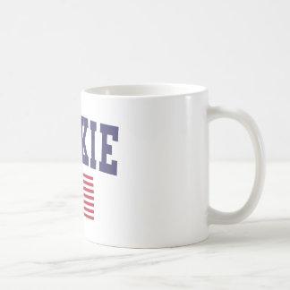 Skokie US Flag Coffee Mug