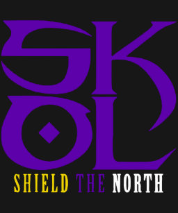40638577 Skol Vikings Shield The North Salute Chant viking T-Shirt