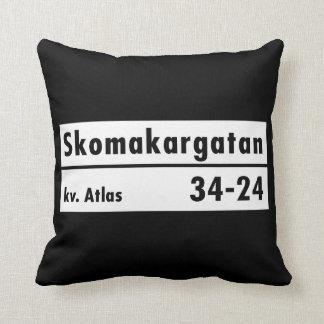 Skomakargatan Estocolmo placa de calle sueca