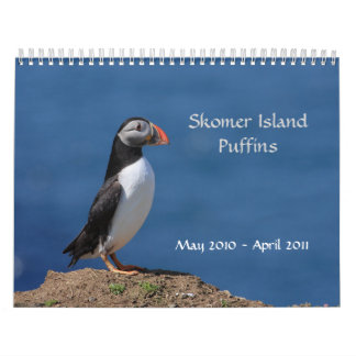 Skomer Island Puffin Calendar