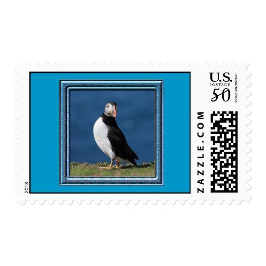 Skomer Island Puffins Postage