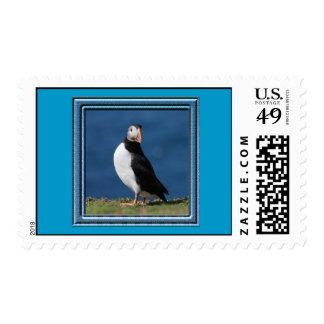 Skomer Island Puffins Stamp