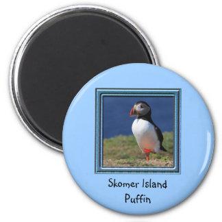 Skomer Island Puffins Refrigerator Magnet