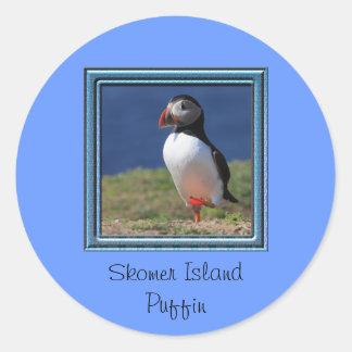 Skomer Island Puffins Stickers
