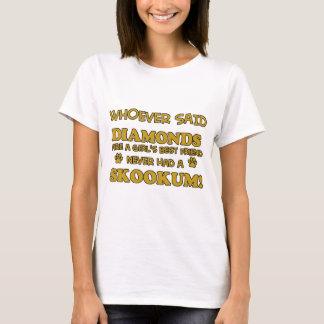Skookum cat breed designs T-Shirt