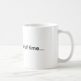 Skool is a waist of time... classic white coffee mug