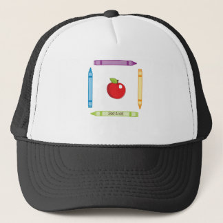 SKOOL IS KOOL TRUCKER HAT