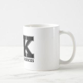 SKOOL OF HARD KNOCKS_black Coffee Mug
