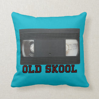 Skool viejo - cinta de VHS Cojín