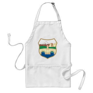 Skopje Coat of Arms Adult Apron