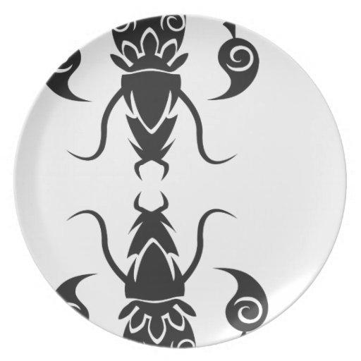 skorpione plato de cena