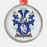 Skovgaard Family Crest Ornaments