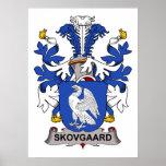 Skovgaard Family Crest Poster