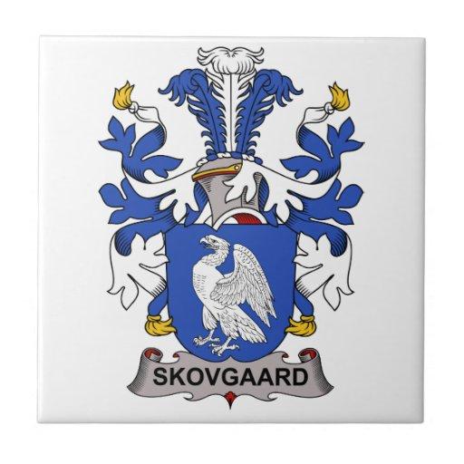 Skovgaard Family Crest Tiles
