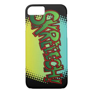 Skreech! Comic Book Text Sound Effect iPhone 8/7 Case