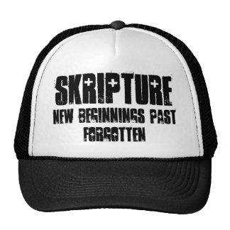 Skripture, nuevo pasado de los principios olvidado gorras