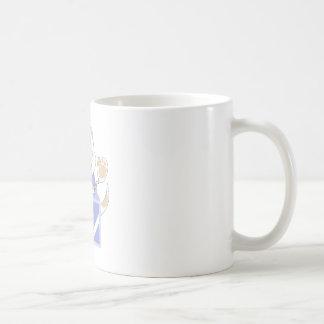 Skrunchkin Cat Elliot In Blue Box Mug