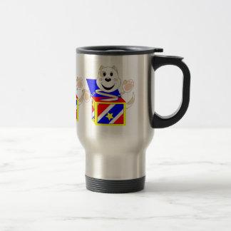 Skrunchkin Cat Elliot In Colorful Box Mug