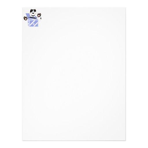 Skrunchkin Cat Mittens In Blue Box Personalized Letterhead