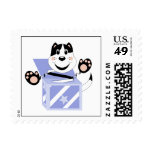 Skrunchkin Cat Mittens In Blue Box Postage Stamps