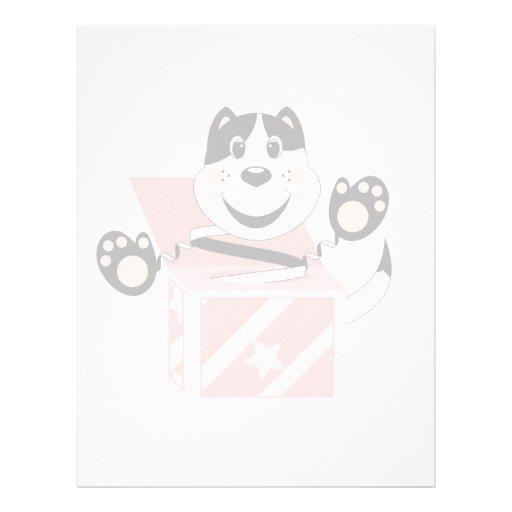 Skrunchkin Cat Mittens In Pink Box Letterhead Design